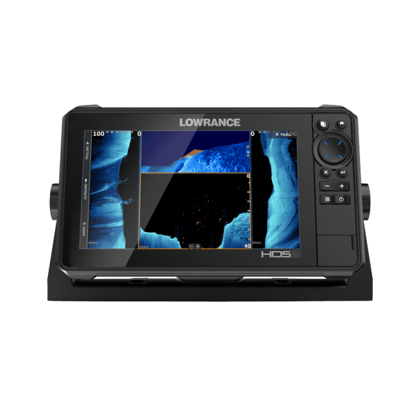 HDS-9 Live completo com transdutor popa TotalScan 83/200/chirp alto/chirp médio/Down image/side image